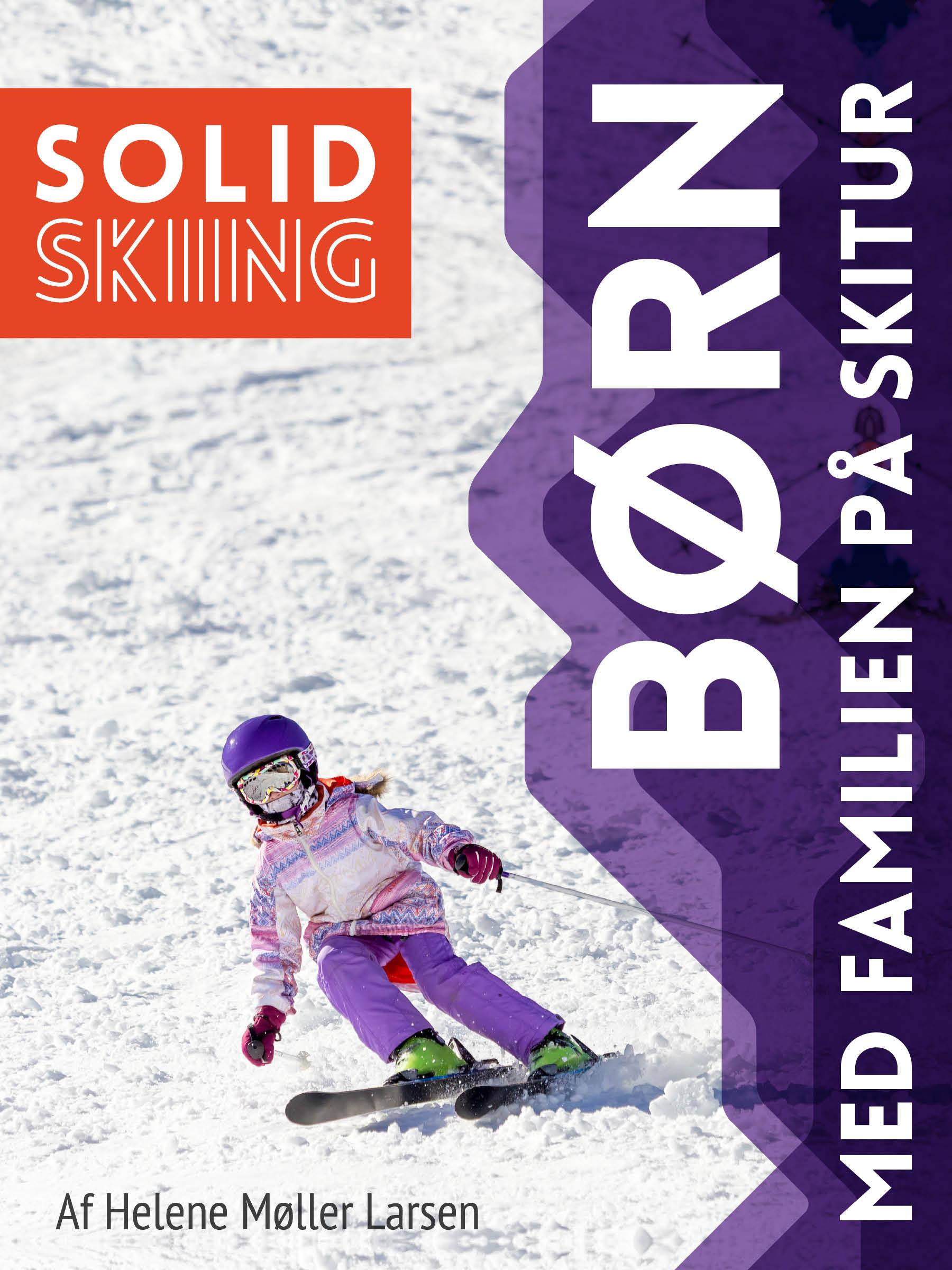 Skibogen, Børn - med familien på skitur, én af flere skibøger fra Solid Skiing